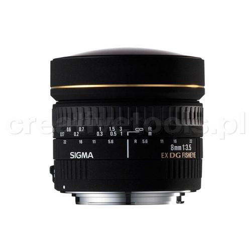 Sigma 8/3.5 EX DG fisheye circular CANON