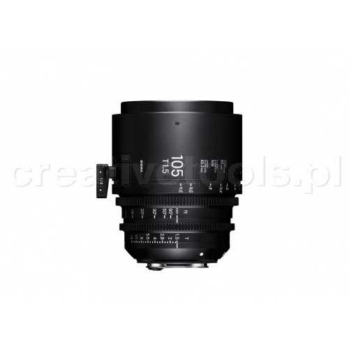 Sigma High Speed Prime Line  105mm T1.5 FF PL-Mount
