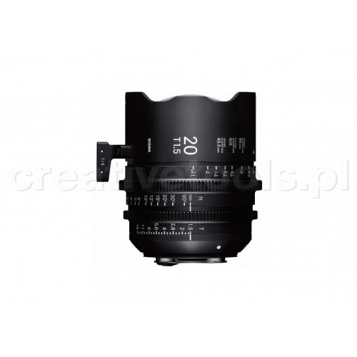 Sigma High Speed Prime Line 20mm T1,5 FF E-Mount
