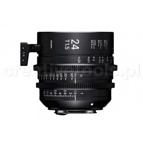 Sigma High Speed Prime Line 24mm T1,5 FF PL-Mount