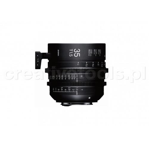 Sigma High Speed Prime Line 35mm T1,5 FF PL-Mount