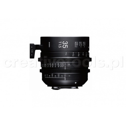 Sigma High Speed Prime Line  35mm T1,5 FF EF-Mount
