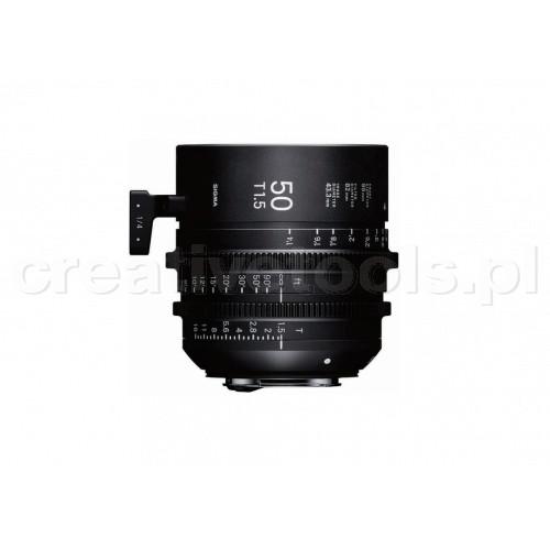 Sigma High Speed Prime Line 50mm T1,5 FF PL-Mount