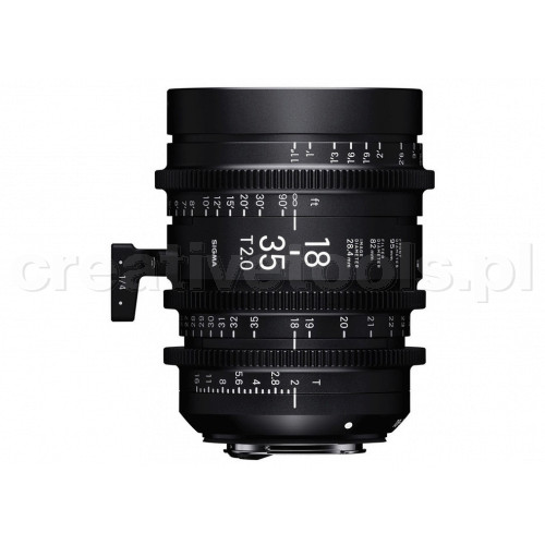 Sigma High Speed Zoom Line 18-35mm T2 E-Mount (Fully Luminous)
