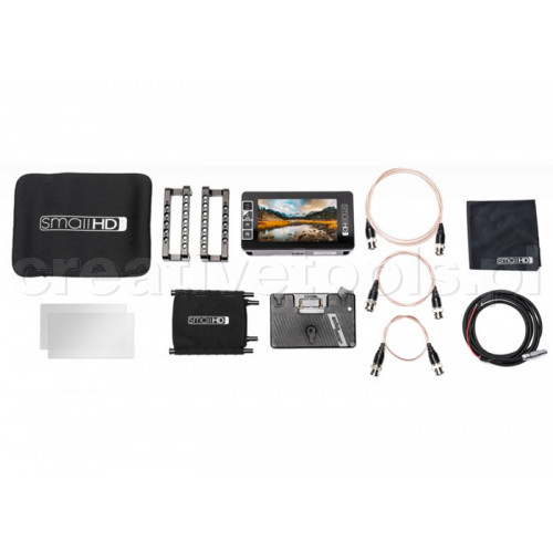 SmallHD 503 Ultra Bright Directors Kit - Gold Mount