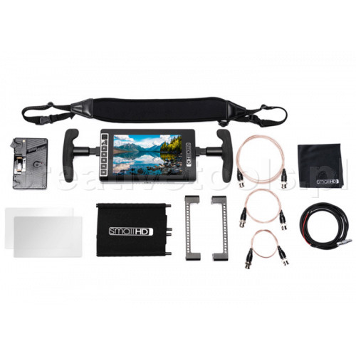 SmallHD 703 Ultra Bright Directors Kit - Gold Mount