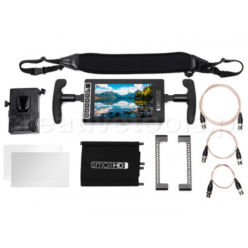 SmallHD 703 Ultra Bright Directors Kit -  V Mount