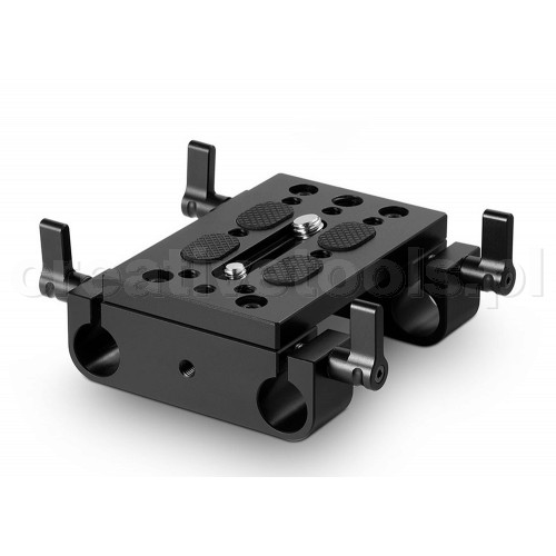 SmallRig (1775) Baseplate with Dual 15mm Rod Clamp