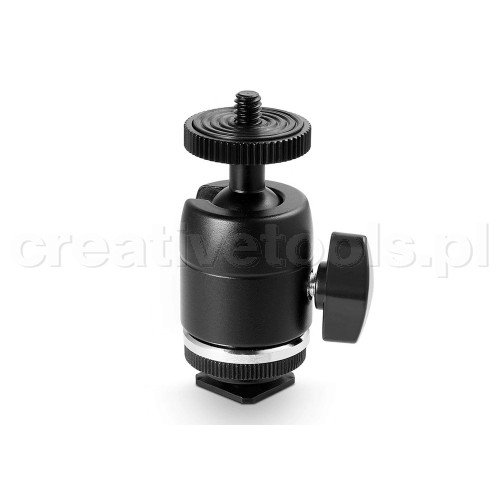 SmallRig (1875) Multi-Functional Ball Head with Removable Shoe Mount