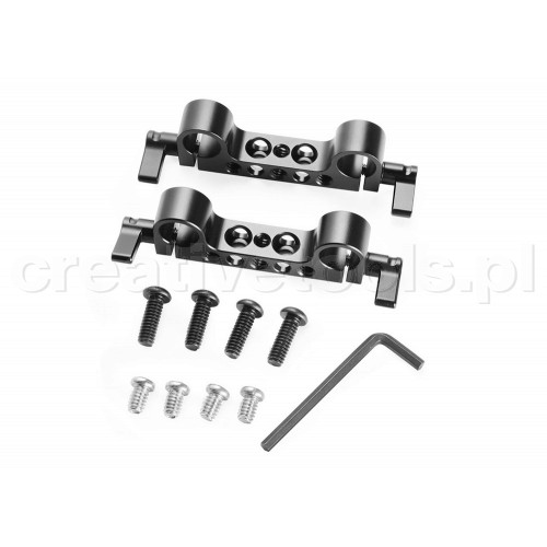 SmallRig (2061) Super Lightweight 15mm-Railblock (2pcs Pack)