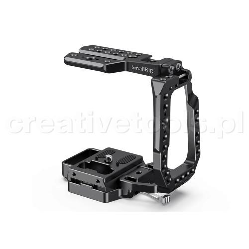 SmallRig (CVB2255B) QR Half Cage for Blackmagic Design Pocket Cinema Camera 4K & 6K