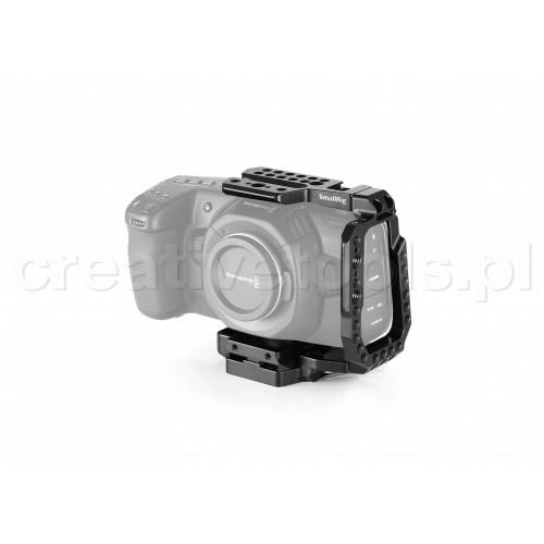 SmallRig (CVB2255) QR Half Cage for Blackmagic Design Pocket Cinema Camera 4K & 6K (Old Version)
