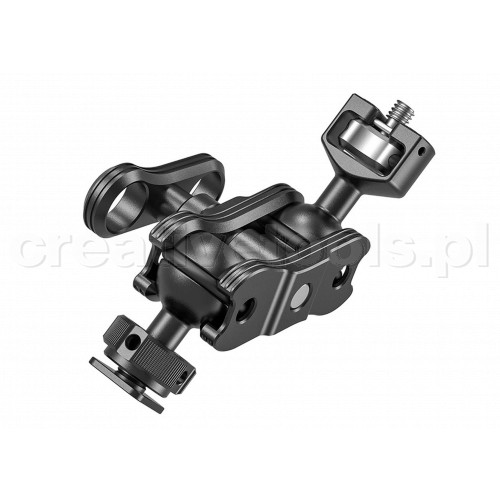 SmallRig (KBUM2394) Magic Arm with Double Ballheads (1/4'' Screw and Cold Shoe)