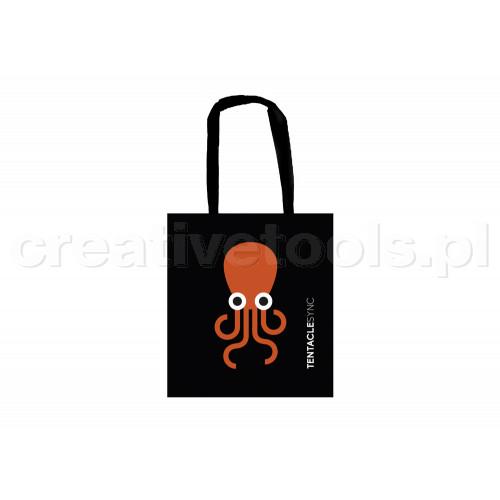 Tentacle Tote Bag (Black)