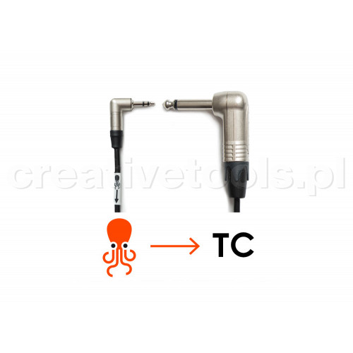 Tentacle to 6.3mm PLUG 90° cable