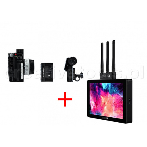 Teradek RT Bundle CTRL.3 1-motor kit + Cine7 SK Gold Mount Monitor