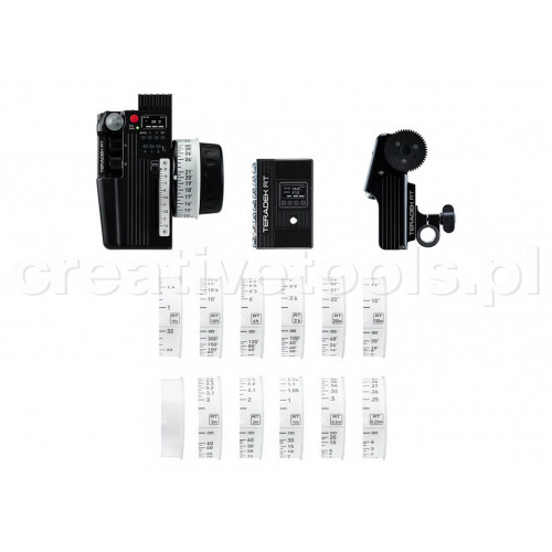 Teradek RT CTRL.3 Wireless Lens Control Deluxe Kit  plus a FREE SmallHD Cine7 500 Rx (Gold Mount)
