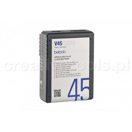 Bebob V45micro Battery 14,4V / 3,0Ah/ 43Wh