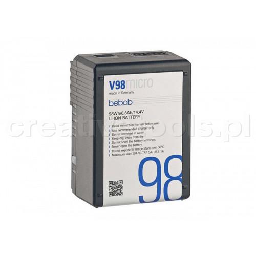 Bebob V98micro Battery 14,4V / 6,8Ah/ 98Wh