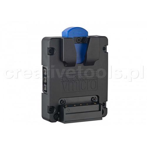 Bebob Vmicro Battery Plate z 2 Twist D-Tap Output