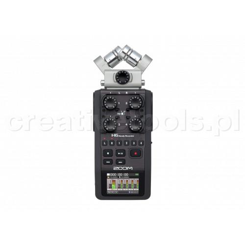 ZOOM H6 - rejestrator cyfrowy audio