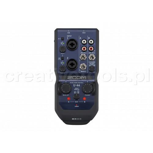 ZOOM U44 - interface audio
