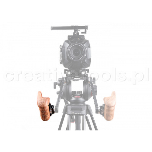 SmallRig (1941) Right Side Wooden Grip with Arri Rosette