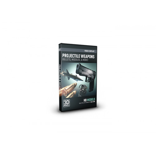 Video Copilot Projectile Weapons Pack