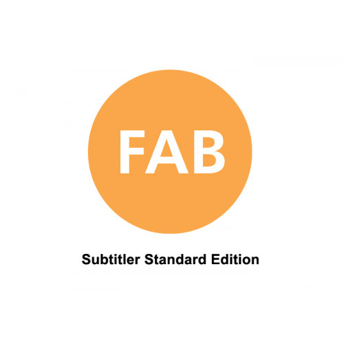FAB Subtitler Standard