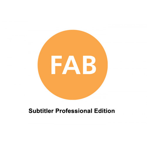 FAB Subtitler Professional