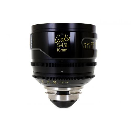 Cooke S4/i Prime & Zoom Lenses T2 18mm