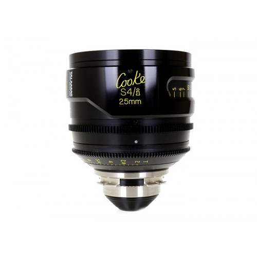 Cooke S4/i Prime & Zoom Lenses T2 25mm