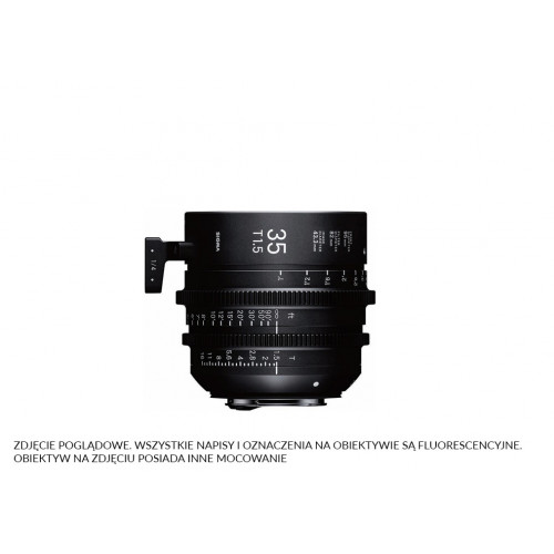 Sigma High Speed Prime Line 35mm T1.5 FF EF-Mount (Fully Luminous)