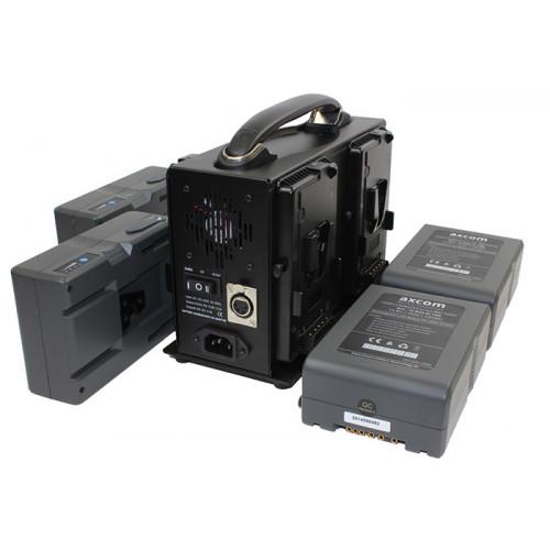 Axcom zestaw 4x U-SVLO-150 + SM-CPVM-4