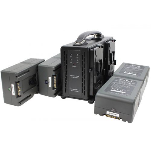 Axcom zestaw 4x U-SVLO-190 + SM-CPVM-4