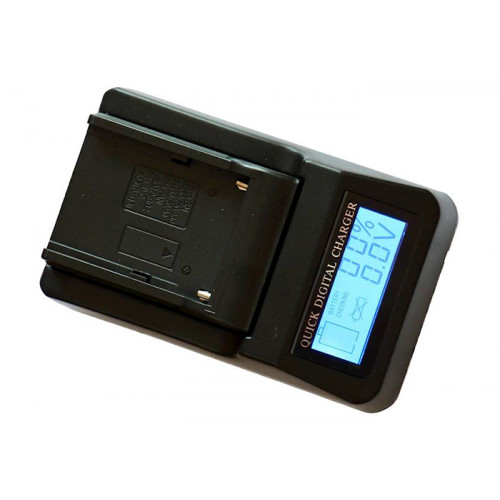 ZOOM Szybka  ładowarka mini DV LCD BLF19