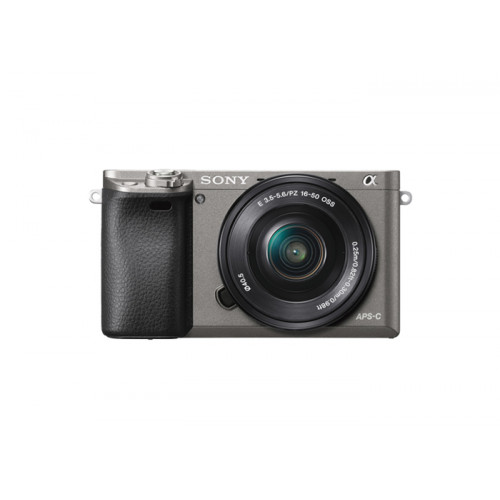 Sony A6000 set (ILCE6000LH SELP1650) szary
