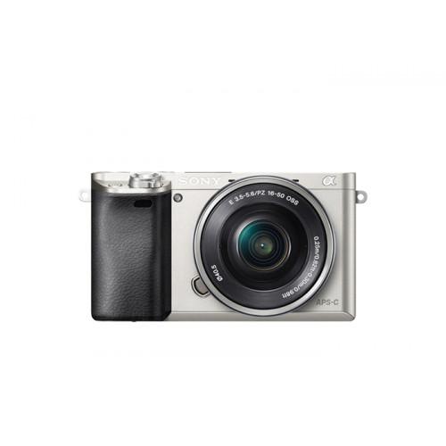 Sony A6000 set (ILCE6000LS SELP1650) srebrny