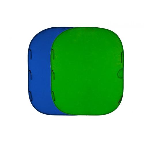 Manfrotto/Lastolite LL LC5687 Tło Chromakey 1.5x1.8m  Blue/Green