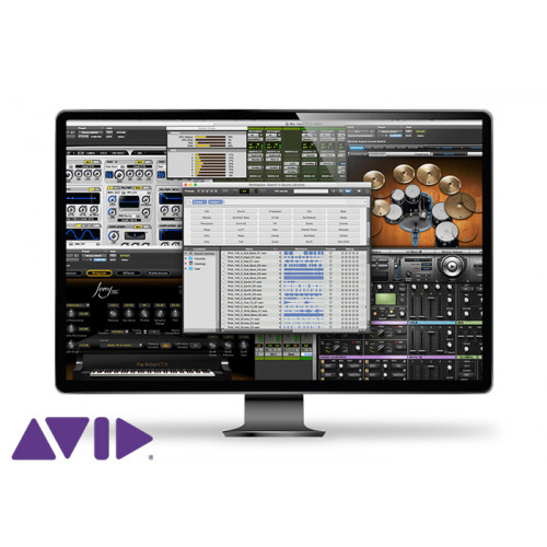 Avid Pro Tools Perpetual Lic NEW EDU Inst. (ESD)