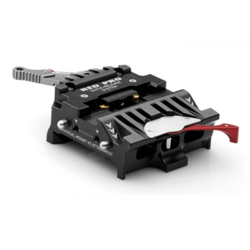 RED QUICK RELEASE PLATFORM (DOVETAIL) (790-0079)