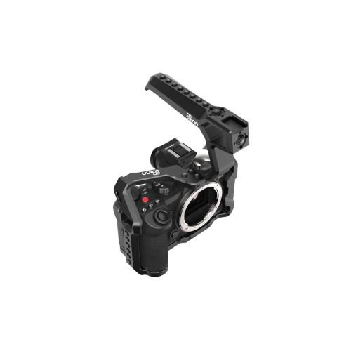 8Sinn Cage for Panasonic S5 + 8Sinn Black Raven Top Handle