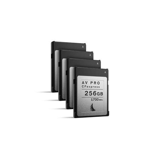 Angelbird AV PRO CFexpress 256GB, 4 pack