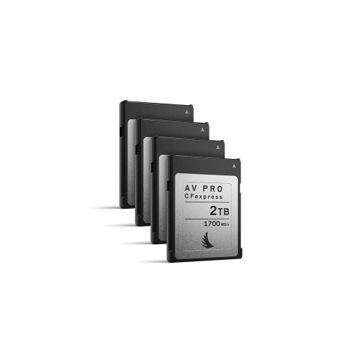 Angelbird AV PRO CFexpress 2TB, 4 pack
