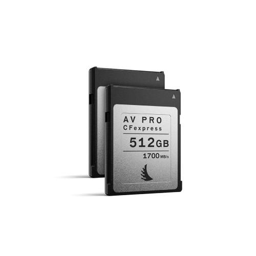 Angelbird AV PRO CFexpress 512GB, 2 pack