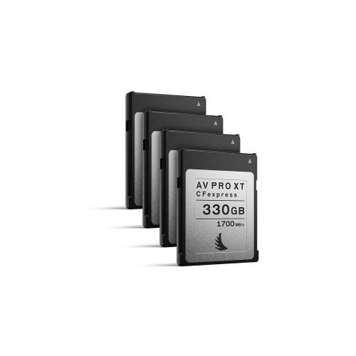 Angelbird AV PRO CFexpress XT 330GB, 4 pack