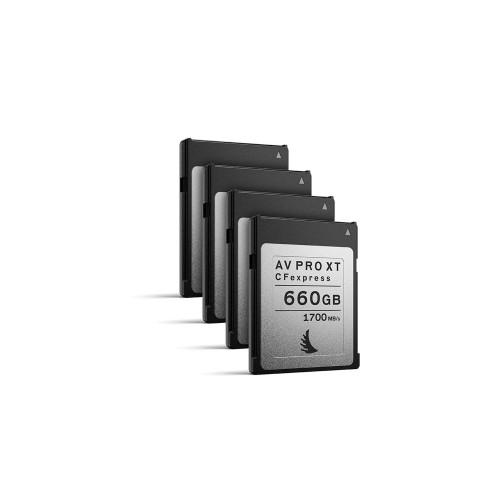 Angelbird AV PRO CFexpress XT 660GB, 4 pack