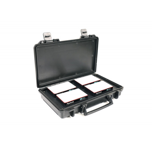 Aputure M-Series MC 4-Light Travel Kit