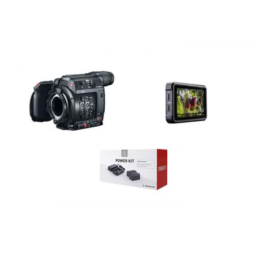 Canon C200 + Atomos Ninja V Power Kit