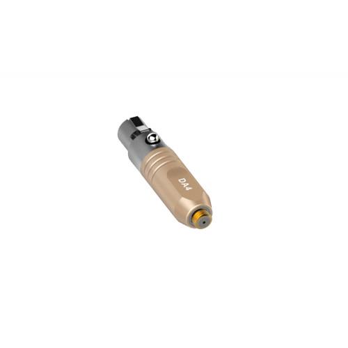 Deity Lavalier Series DA4 Microdot Adapter for W.Lav Beige